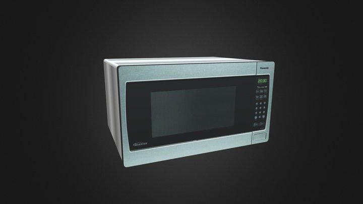 Microwave 3D Model