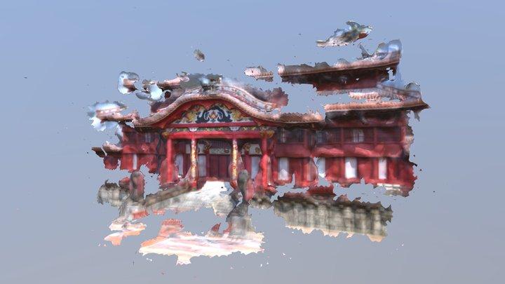Shuri Castle Reconstruction 3D Model