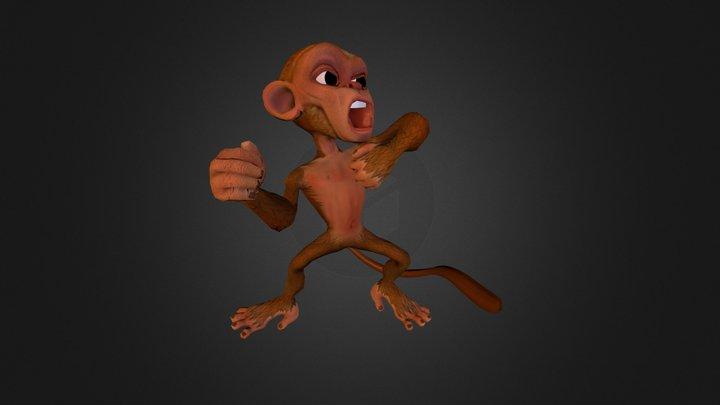 Monkey Chest Pound 3D Model