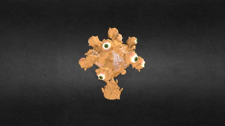 Eyeball tree for 'Believe' music video 3D Model