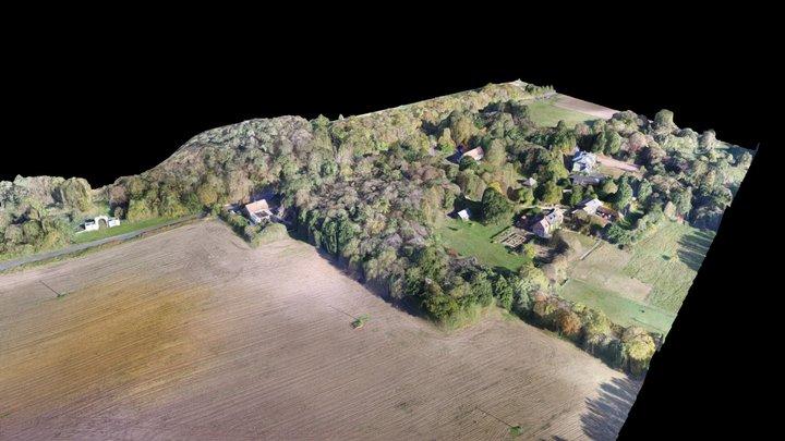 Manor Farmhouse, Norwich Road, Chedgrave 3D Model