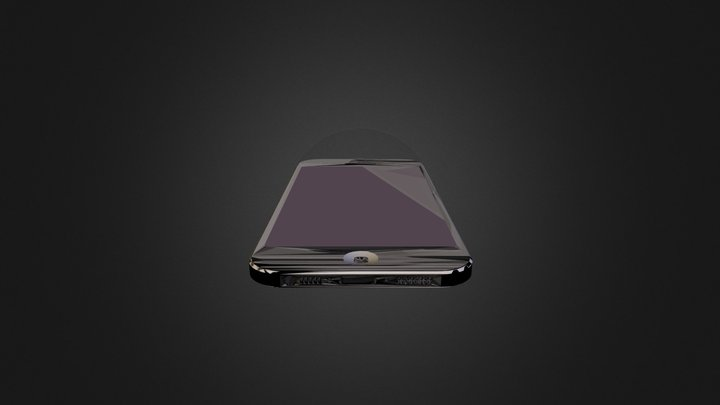 Iphone5b 3D Model