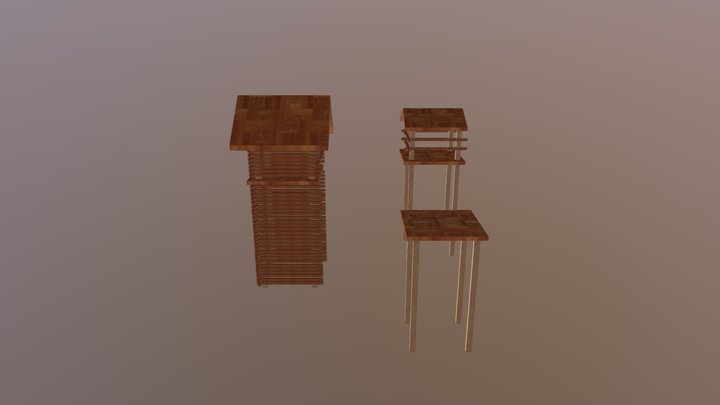 Torre E Upgrades 3D Model