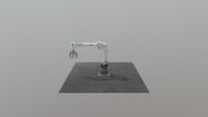 UX3D Industrial Robot 3D Model