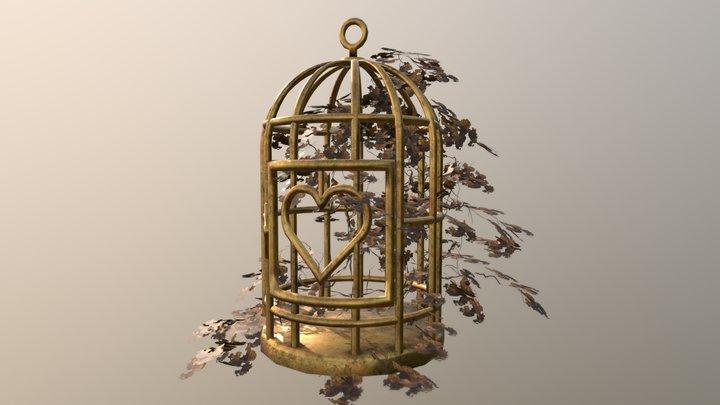 Bird Cage. Autumn atmosphere 3D Model