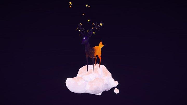Star Deer 3D Model