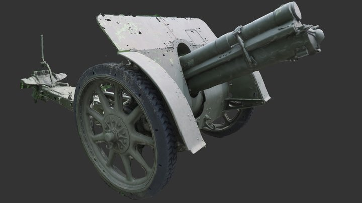 Cannone 100 H7-14 3D Model