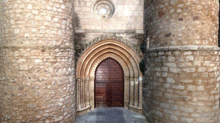 Iglesia San Pedro (Ciudad Real) Puerta de Umbría 3D Model