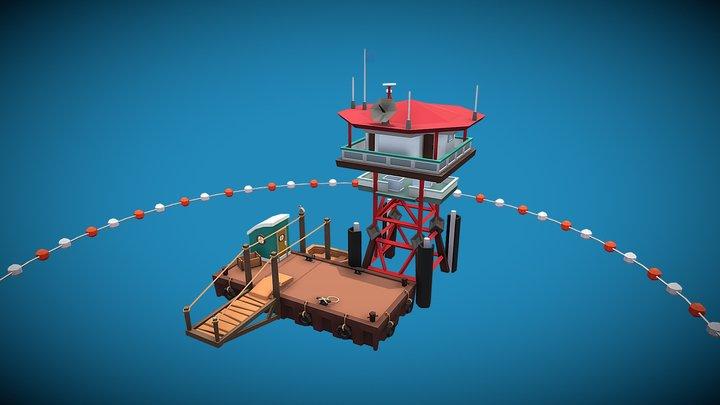 Portable- Outpost 3D Model