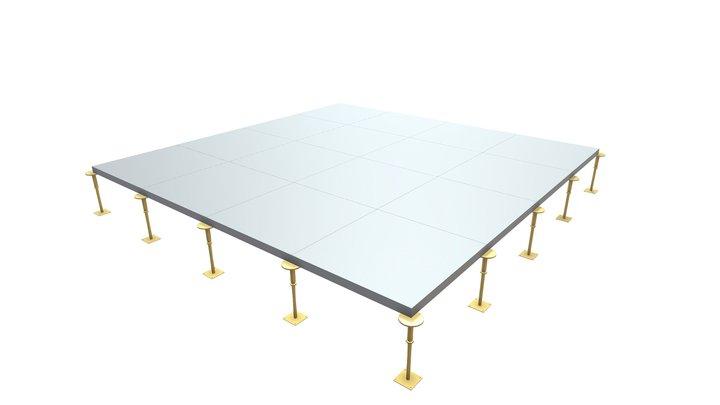 Kingspan Access Floors - Pedestal 3D Model
