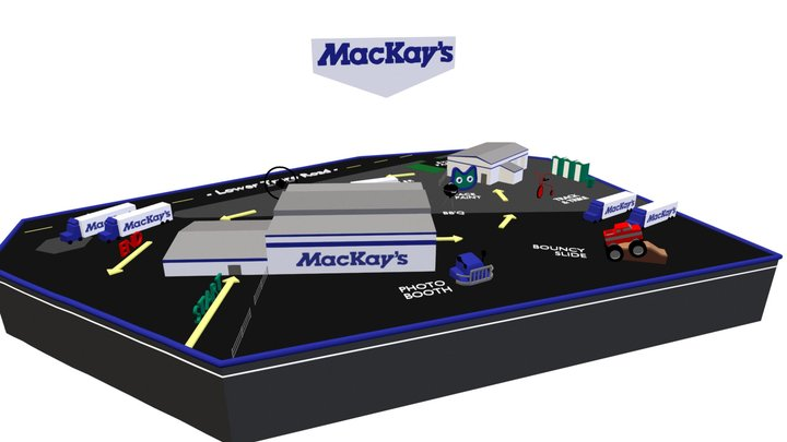 MacKay's Event Map 3D Model