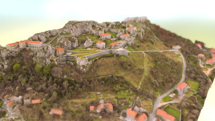 Knin - The King´s Town 3D Model