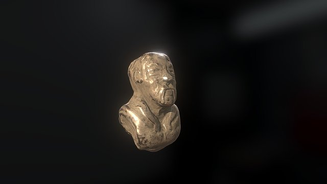 Almost gold 3D Model