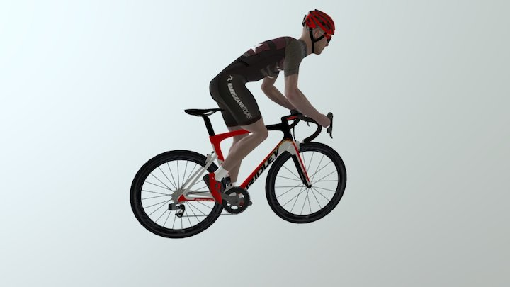 Climbing Out Of The Saddle WIP 3D Model