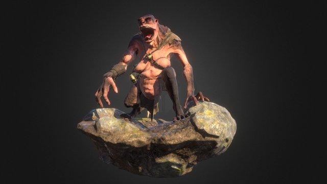 Ogress 3D Model
