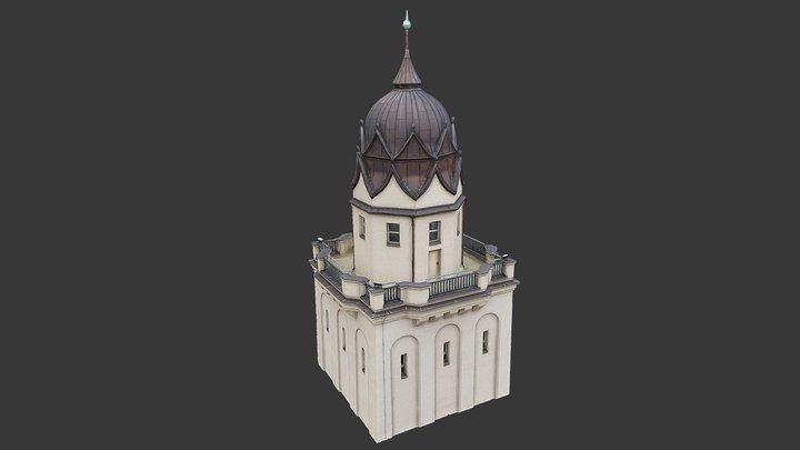 Stadtbadturm 3D Model