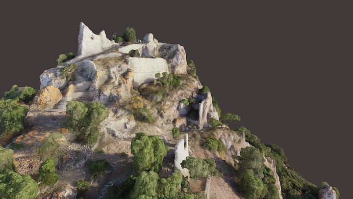 Galtellì, Castello di Pontes 3D Model