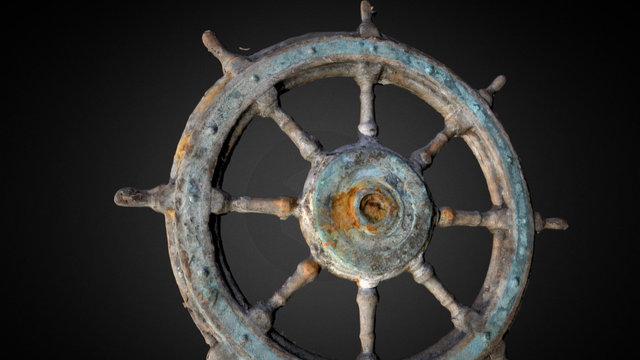 Ships Wheel 3D Model