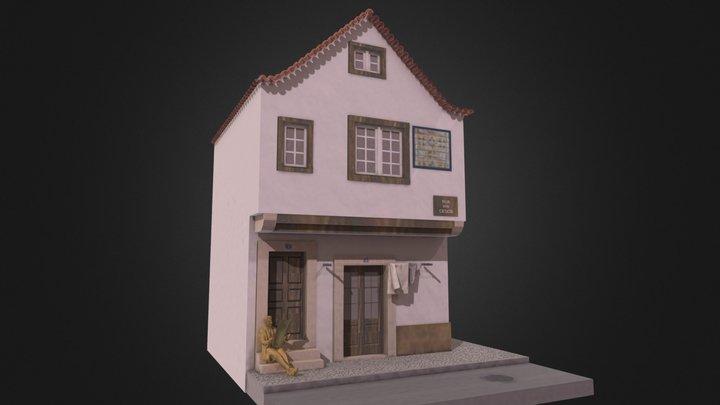 Oldest House Lisboa 3D Model
