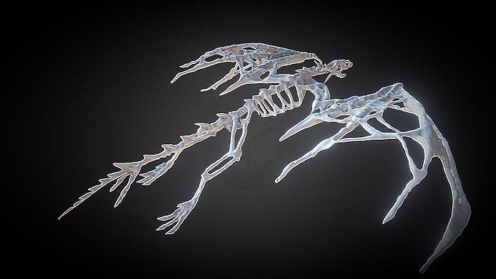 Bone Dragon 3D Model
