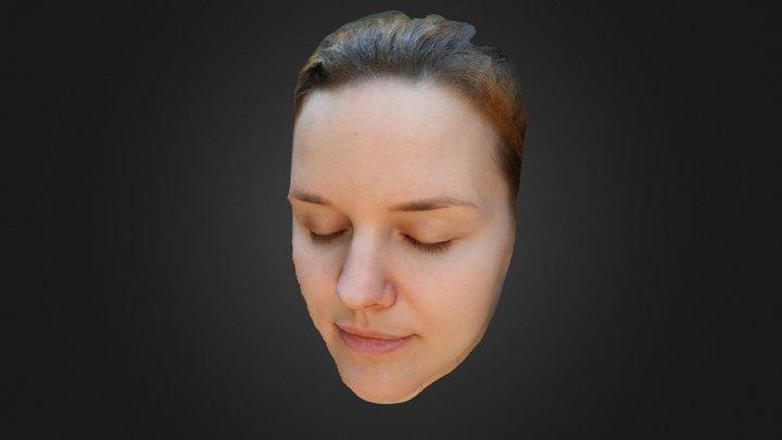Vika's face 3D Model