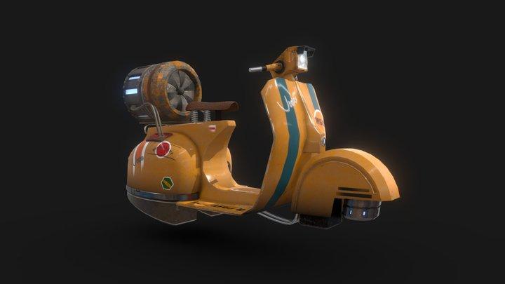 vespa future version 3D Model