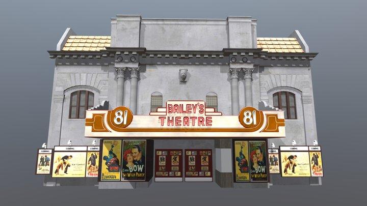Baileys 81 Theater 3D Model