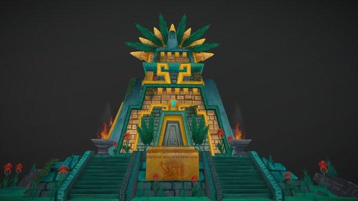 Ximena Sacriface Temple 3D Model