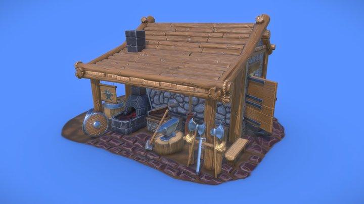 The Blacksmith's 3D Model