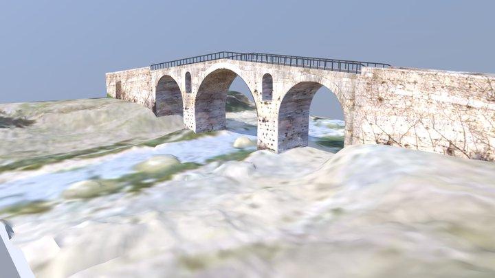 Le Pont Julien 3D Model