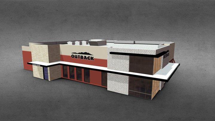 Outback Restaurant 3D Model