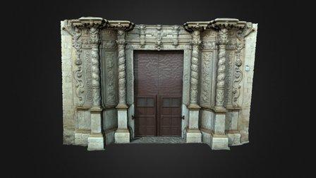 Façana de l'església de Montisión 3D Model