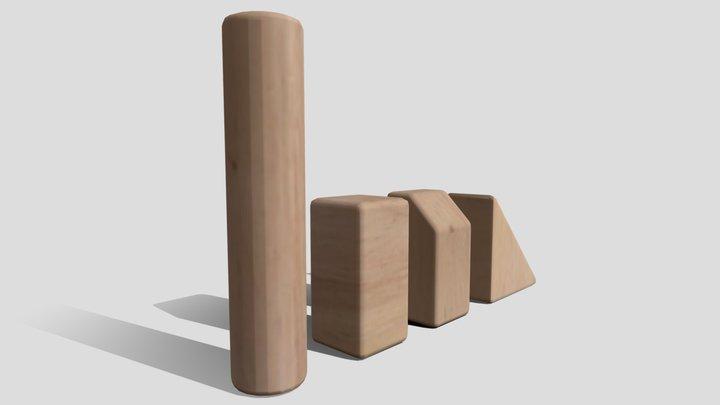 Unit Blocks 3D Model
