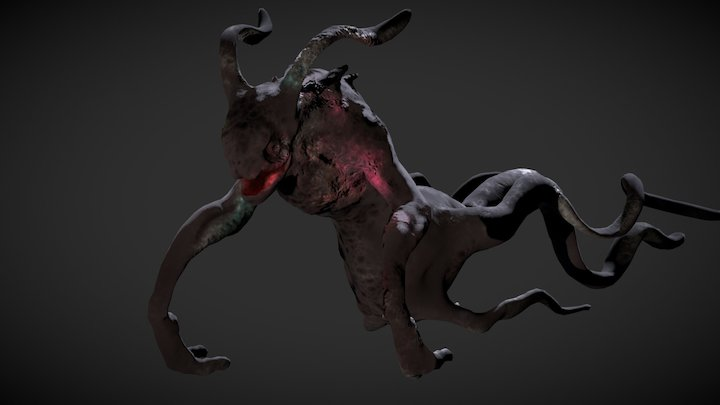 Ghost Rabbit (substance test) 3D Model