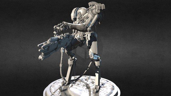 Invasion #1 - Low poly version 3D Model