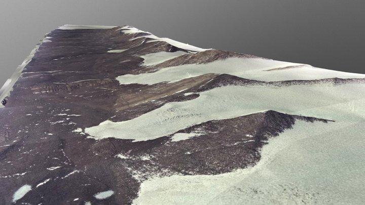 Taylor Valley, Antarctica 3D Model