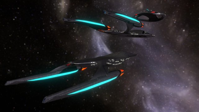 USS Theurgy NX-79854 | MVAM 3D Model