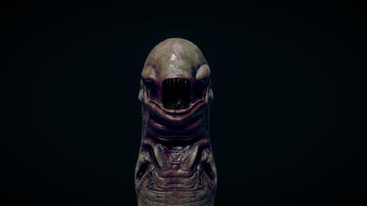 Alien : Chestburster 3D Model