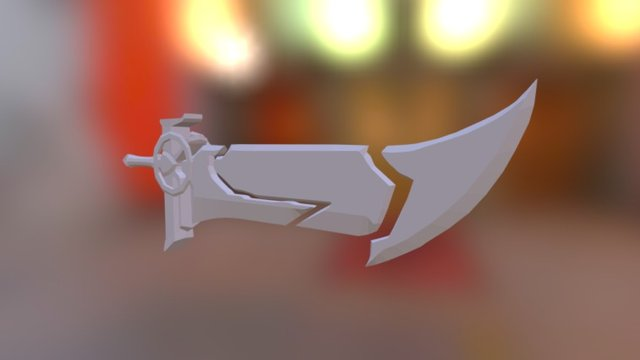 Riven Blade Of The Exile 3D Model