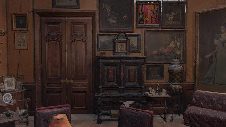 Baroque Room by Xi 3D Model