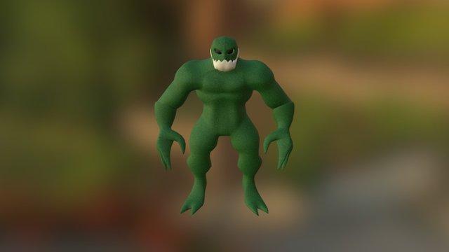 Beast 3D Model