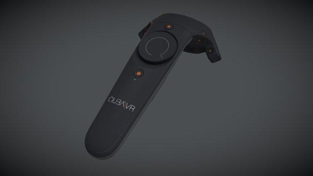 QubaVR for Vive Controller 3D Model