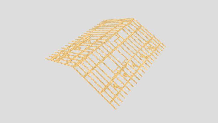 Prien Dachstuhl 3D Model
