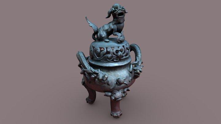 Chinese censer 3D Model