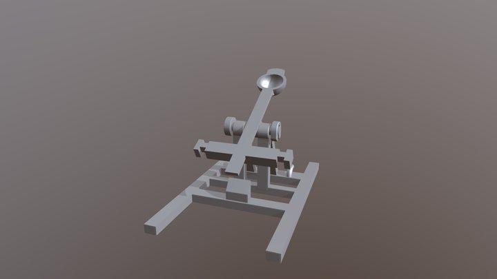 Catapult for 3d print 3D Model