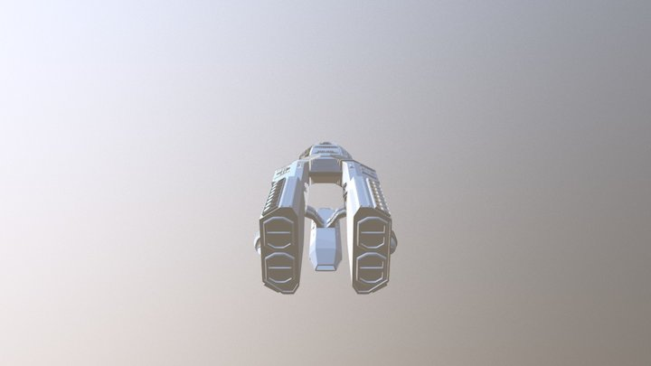 Defender Star Battlestar Galactica 3D Model