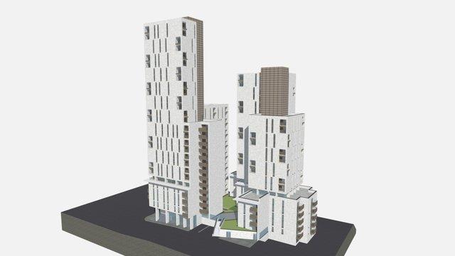 3D Model - The Assembly, Manchester 3D Model