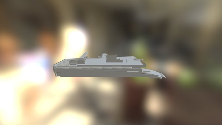 Skinny Model 3D Model