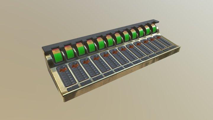 Mixer 02 3D Model