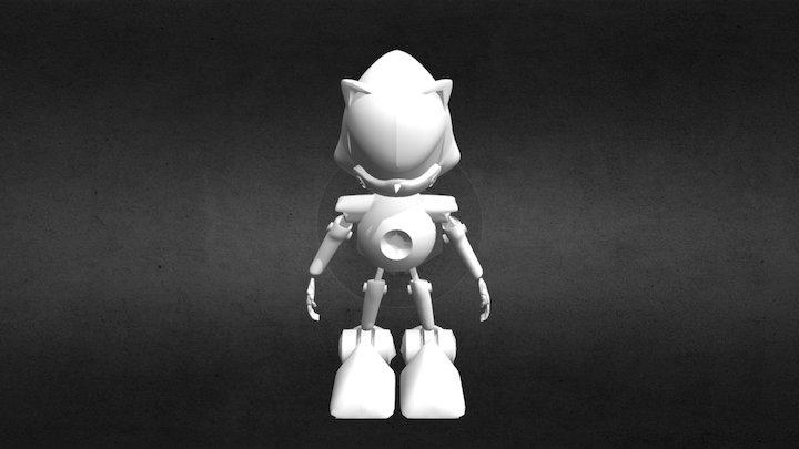 Metal Sonic 3D Model